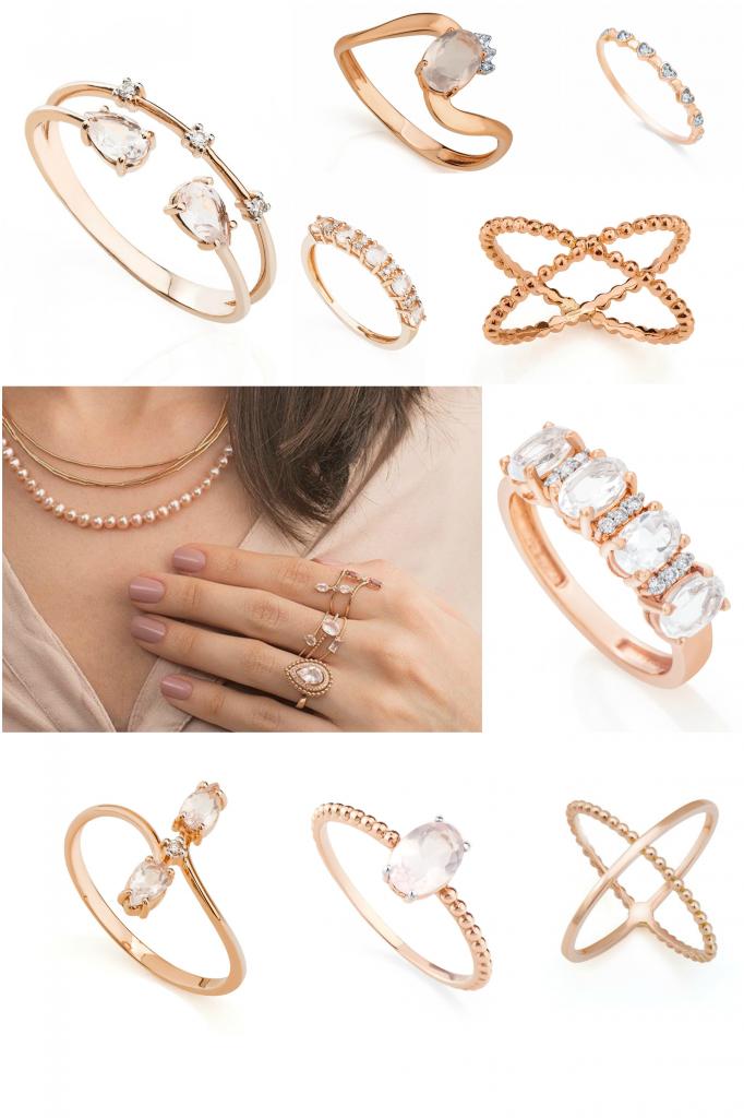 aneis-ouro-rose-minimalistas