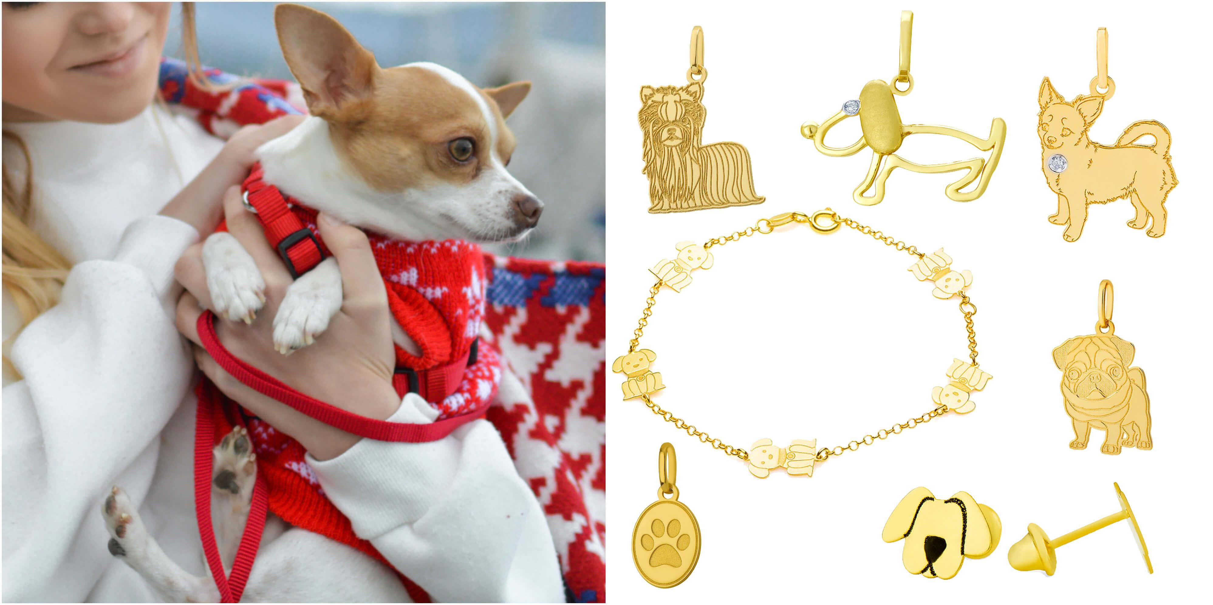 cachorros-animais-ouro-joiasgold