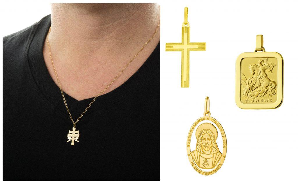 dia-dos-pais-religioso-pingente-ouro-joiasgold