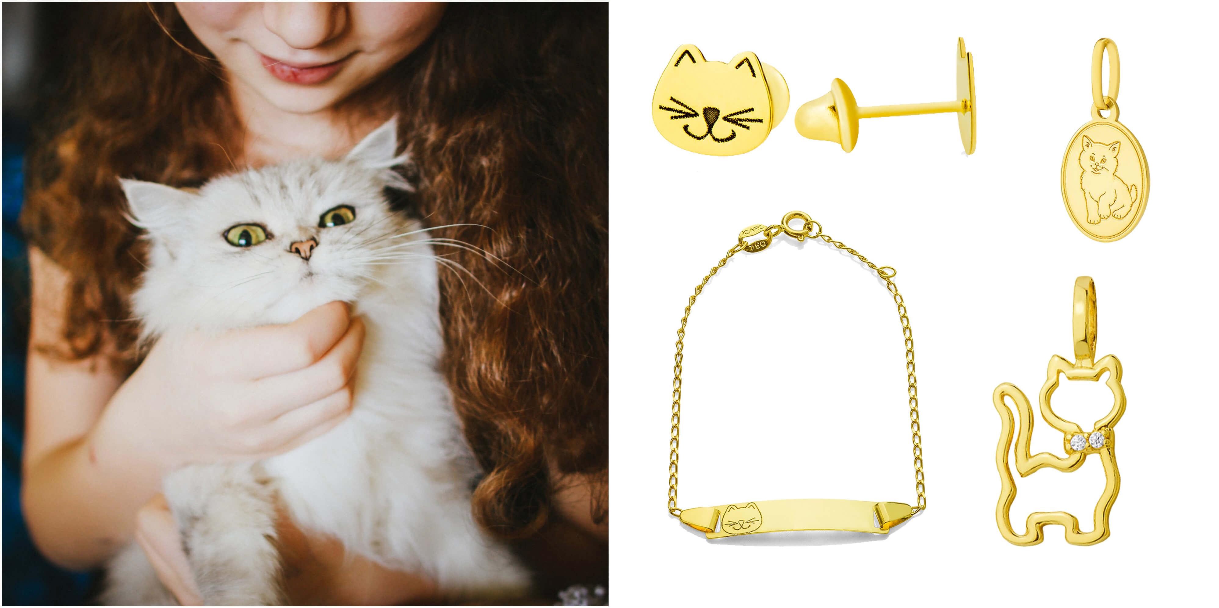 gatos-animais-ouro-joiasgold