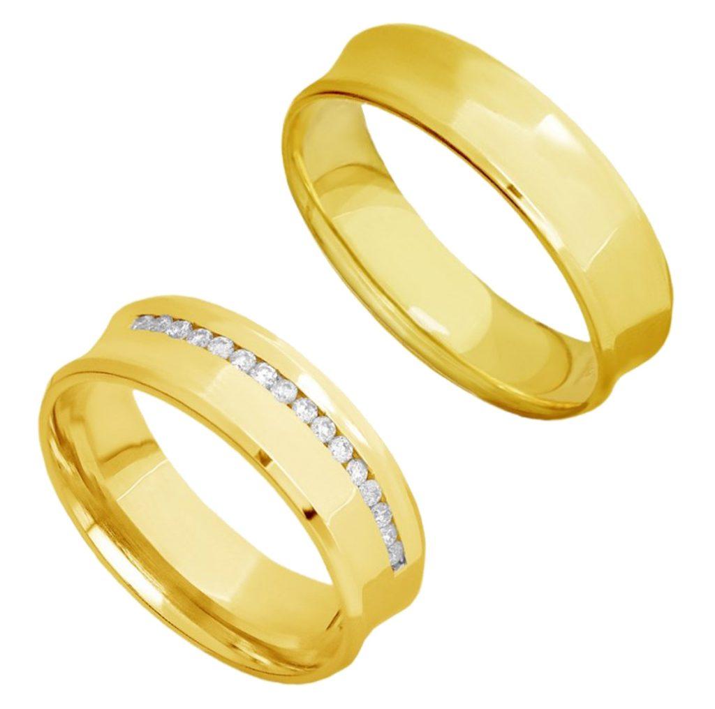 par-aliancas-casamento-ouro-18K-concavas-anatomicas